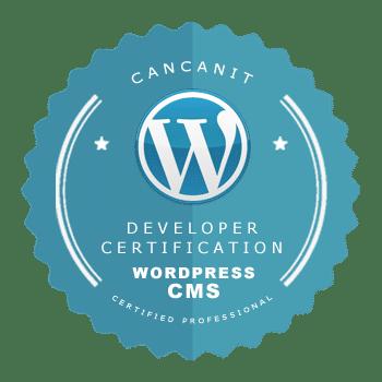 certificação wordpress